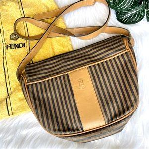 FENDI Vintage Authentic Pequin Stripe Purse